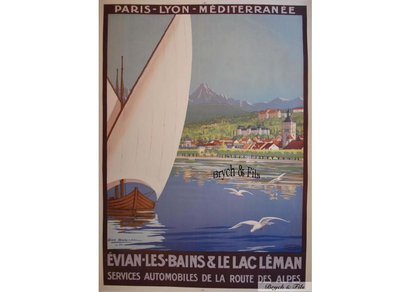 Evian les Bains & le Lac Leman