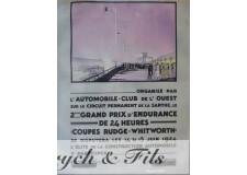 24 Heures du Mans 1924 2e Grand Prix d'Endurance