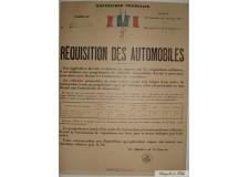 """Réquisition des Automobiles """"2"""""""