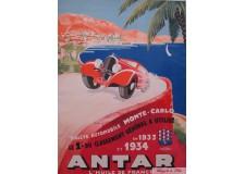 Antar - Rallye Monte-Carlo 1933-1934