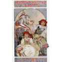 Cartes Postales Alphonse Mucha