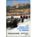 Programmes Grand Prix Monaco
