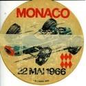 Autocollants Gand Prix Monaco